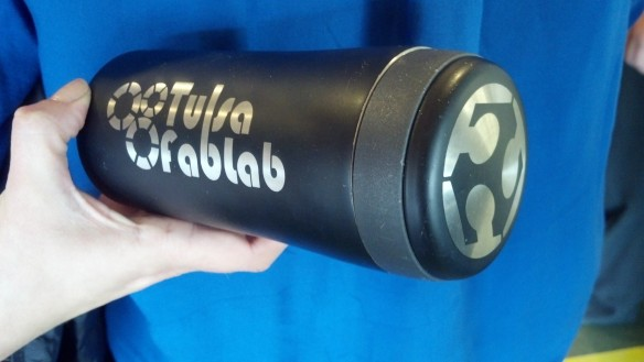 Fab Lab Tulsa Laser cut