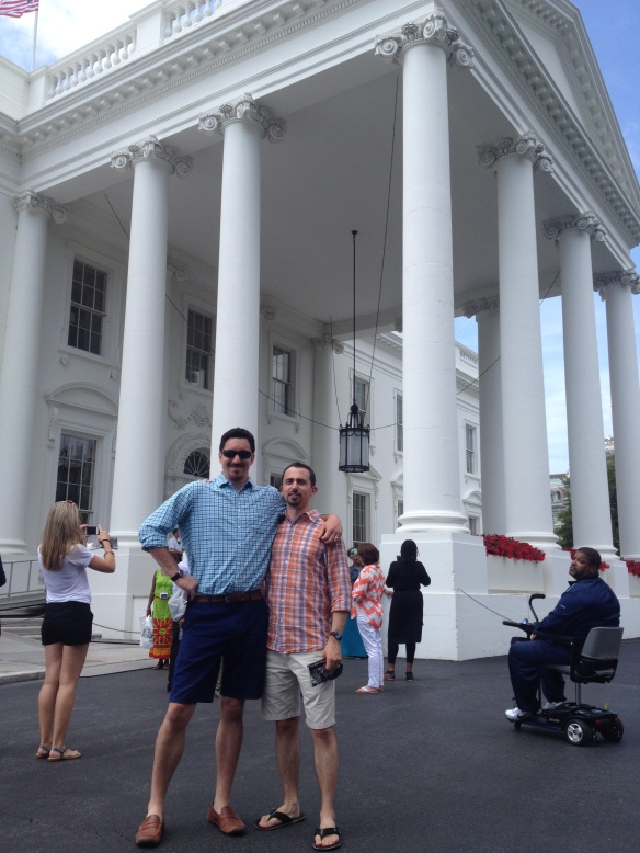 The Study Tour Guys at The White House